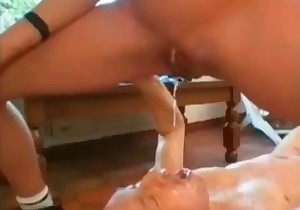 sucking shit covered dick
